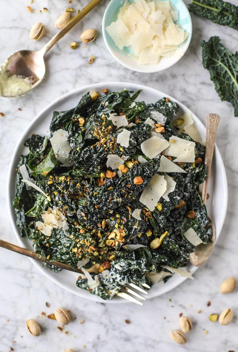 parmesan-pistachio-kale-salad