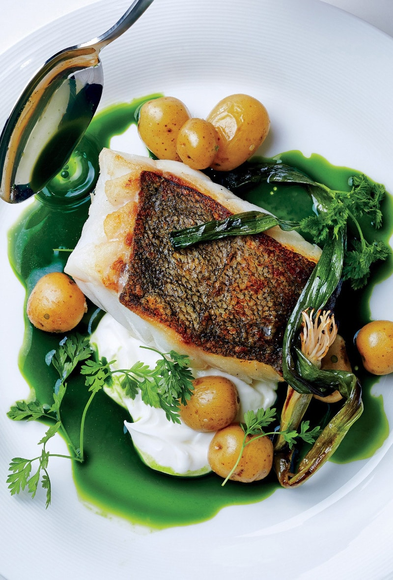 seared-hake-with-baby-potatoes