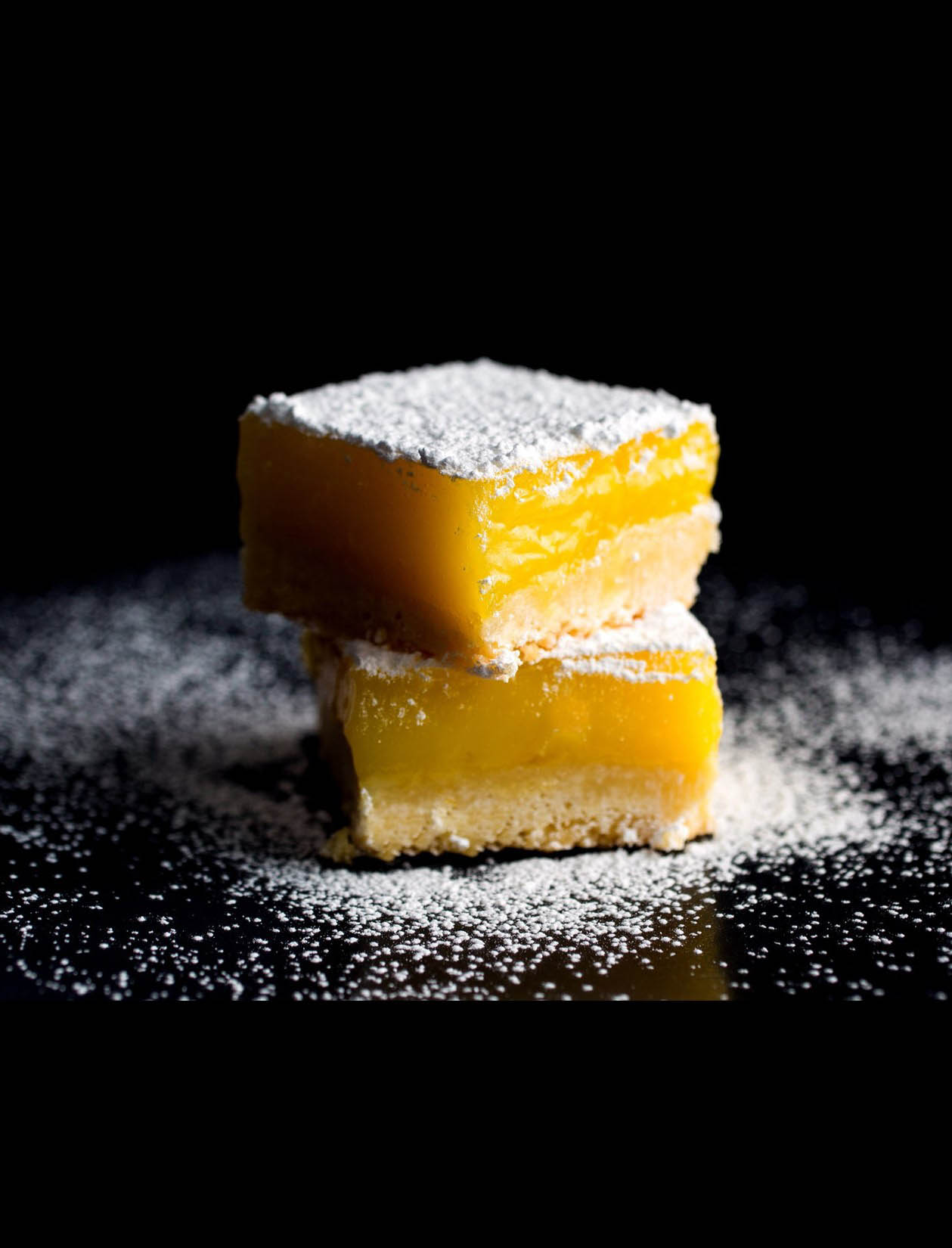 LEMON BARS WITH OLIVE OIL AND SEA SALT